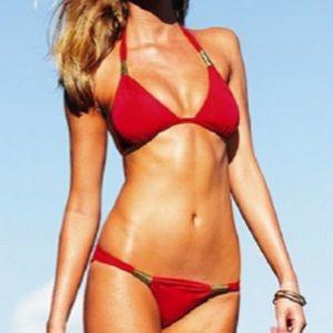 Victoria's Secret Red Swimsuit Bikini Set size XS